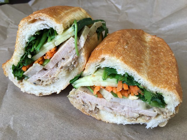 Vietnamese ham sandwich - Out The Door