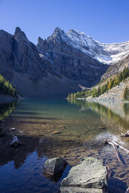 Lake Agnes, early morning