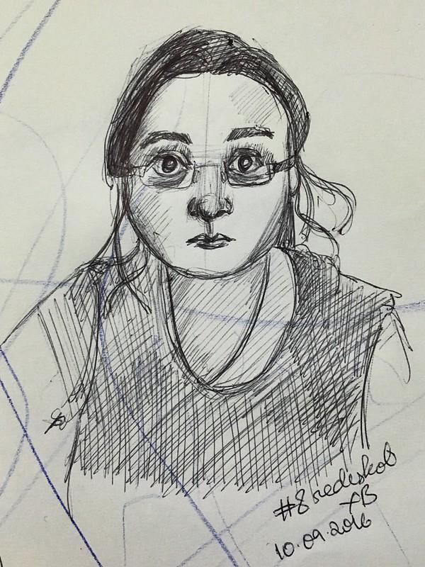 Sketchy selfie #8
