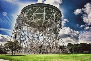Jodrell Bank on Snapseed | by Robert Hewitt 1960