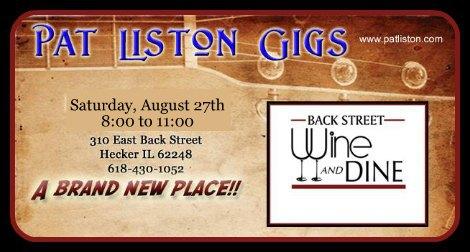 Pat Liston 8-27-16