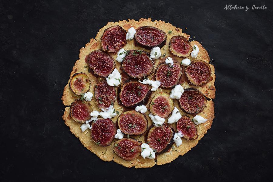 Fig gruyère tart