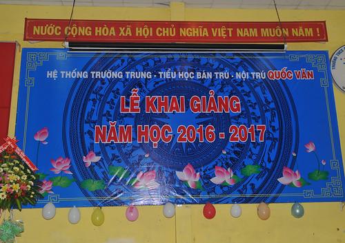 Lễ khai giảng năm học 2016 - 2017
