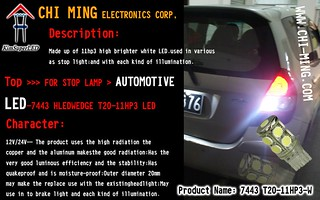 Auto bulbs led lighting-S25-XPE CREE LED | by xpeledming