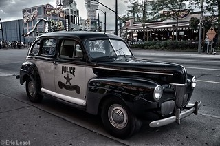 Police car from the past | by erlst24