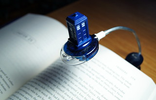 Doctor Who Book Light | by haunted snowfort