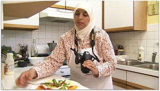 "Making Caprese Salad for CBS's ""Food, Faith & Culture"" 