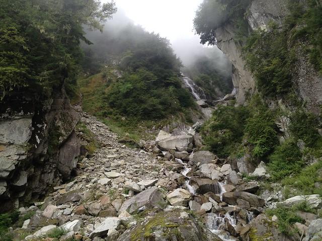 鳳凰山 ドンドコ沢 鳳凰の滝