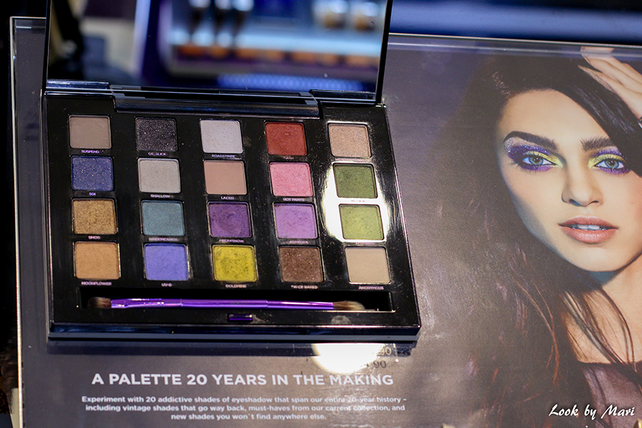 11 Urban Decay XX Vice LTD reloaded eyeshadow palette colors