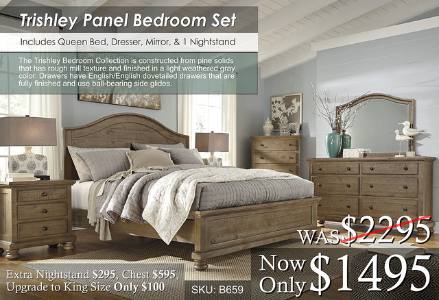 Trishley B659 Panel Bedroom Set