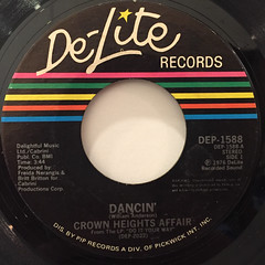 CROWN HEIGHTS AFFAIR:DANCIN'(LABEL SIDE-A)