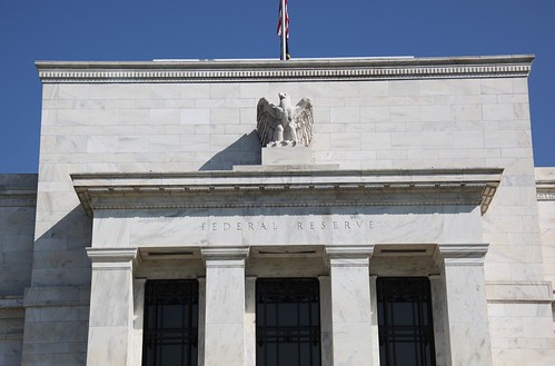 Federal Reserve Building - front with flag - 2012-09-13 | by Tim Evanson