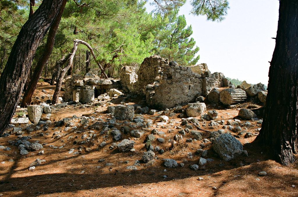 Phaselis, necropolis