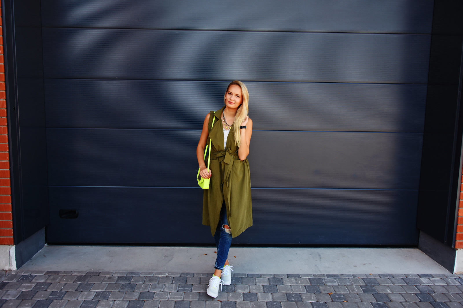 Latvian fashion and lifestyle blogger
