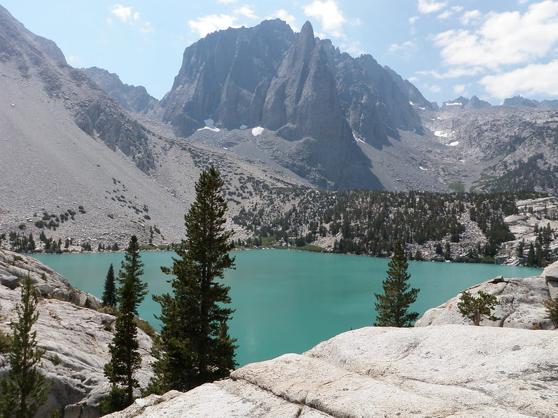 Mount Sill • Second Lake and Temple Crag