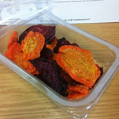 Early Bird Carrot & Beetroot Crisps