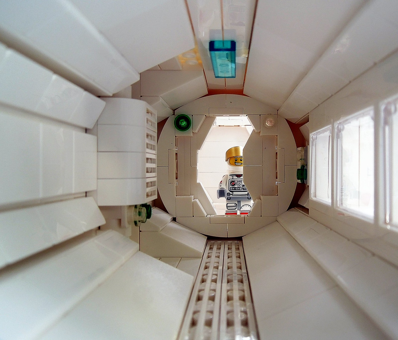 Space - White Corridor