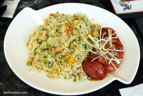Taiwanese Sausage with Fried Rice