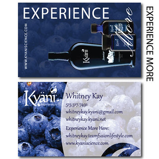 Kyani Experience More Business Cards Whitney Kay