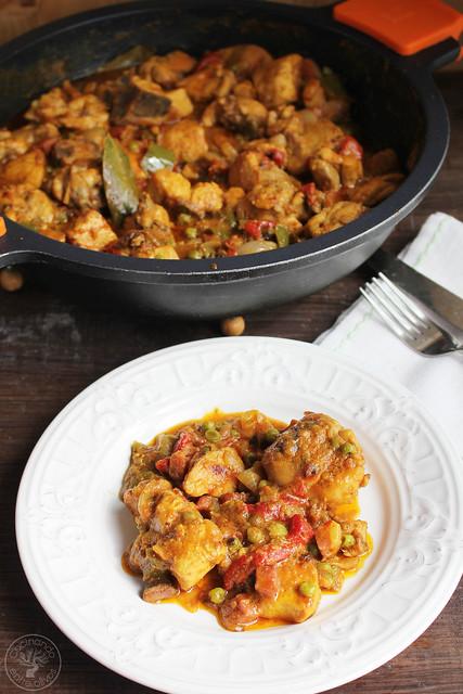 Pollo a la Secretaria, Pollo a la Alcalaina www.cocinandoentreolivos.com (22)