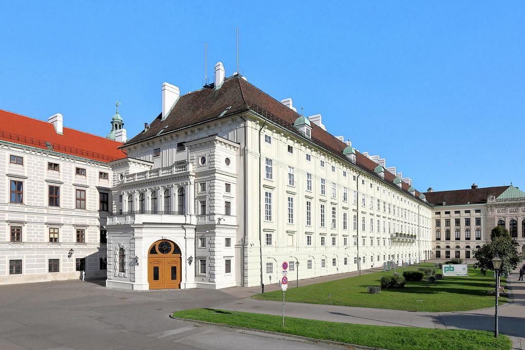 Wien-Hofburg-Präsidentschaftskanzlei