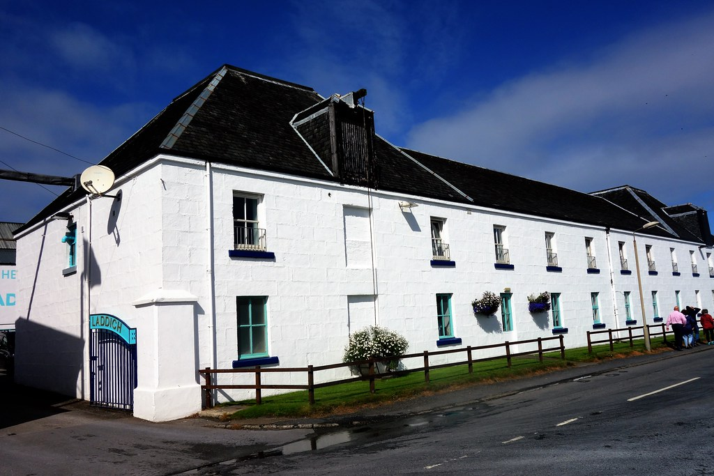 Bruichladdich Distillery, Islay, Scotland