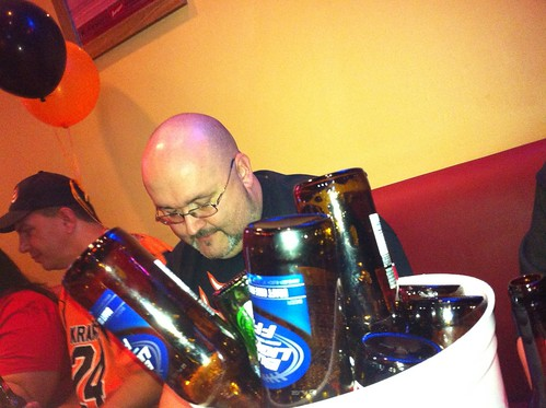 Pondy and empty beers: A still-life | by scottsigler