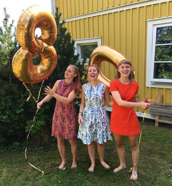 our 80th birthday party, karlskrona