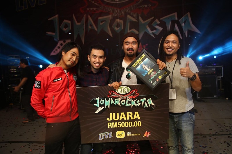 Emy Juara JoHaRockStar & Kini Bergelar Pelajar AF2016