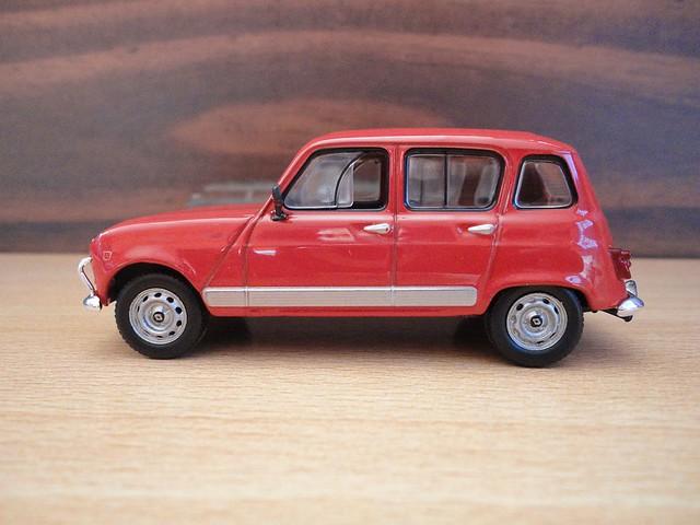 Renault 4L (1982) 1/43 (IXO)