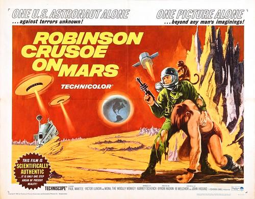 Robinson Crusoe on Mars - Poster 3