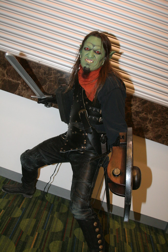 SF Comic Con: Cosplay Goblin