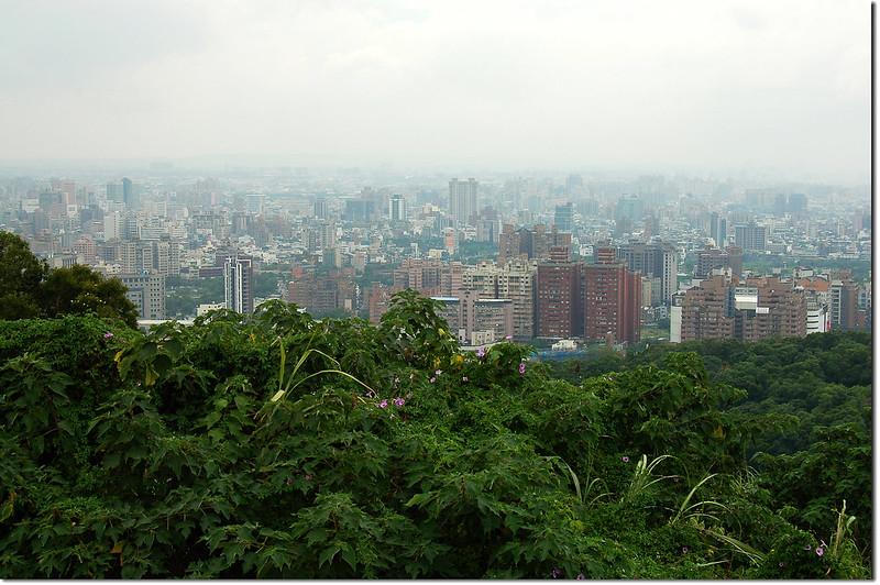 虎頭山環保公園俯瞰桃園市區