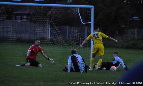 Cliffe FC Sunday 7 - 1 Fulford (Friendly)