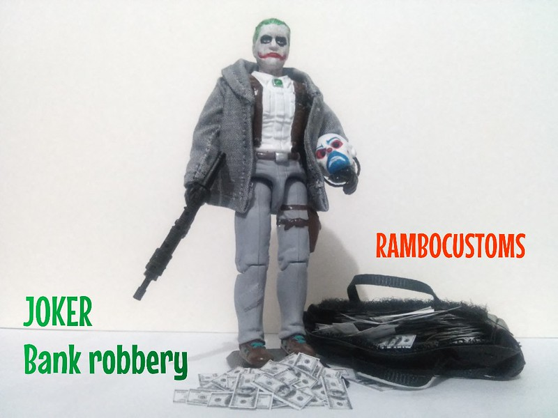 JOKER. Bank robbery. 28625335743_27529ac506_c
