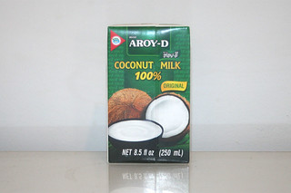 08 - Zutat Kokosmilche / Ingredient coconut milk