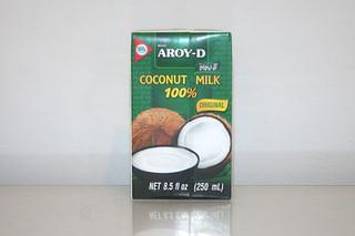 08 - Zutat Kokosmilche / Ingredient coconut milk