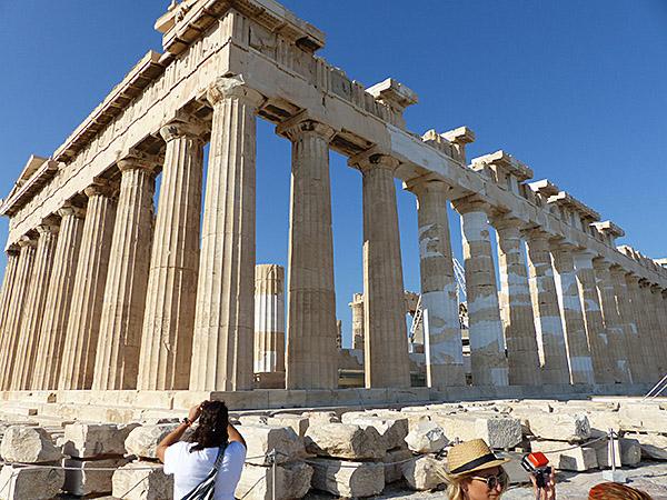photographier le Parthénon