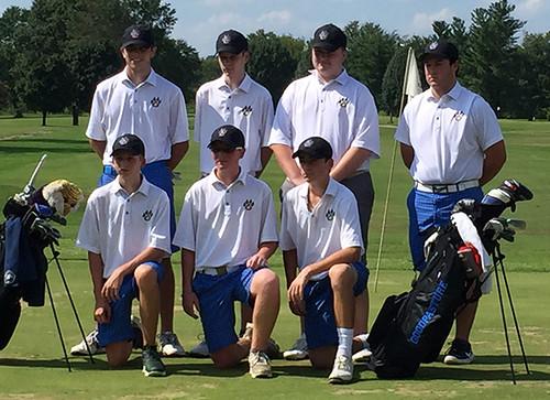 2016 GCS Golf Team