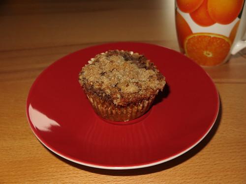 Walnuss-Apfel-Muffin zum Kaffee (nach der Radtour)