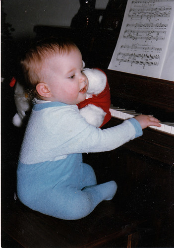 Portrait of the Pianist as a Young Toddler