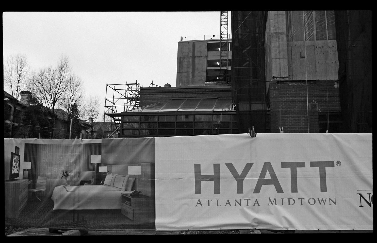 Hyatt Atlanta Midtown, Dec 2012