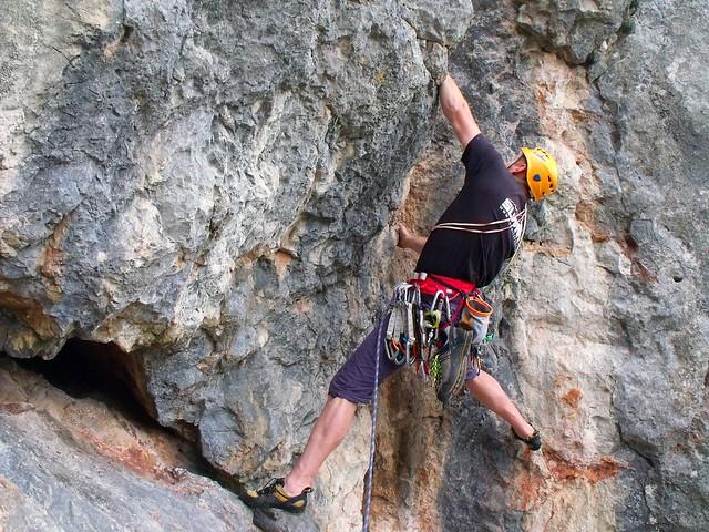 Hohe Wand Direkter Österreichersteig 170m (7+)