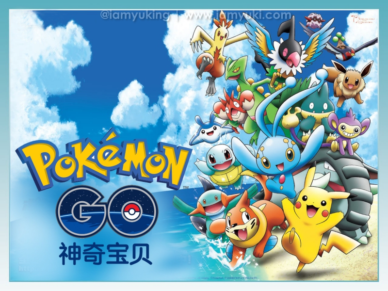 Pokémon Go business Yuki Ng09神奇宝贝