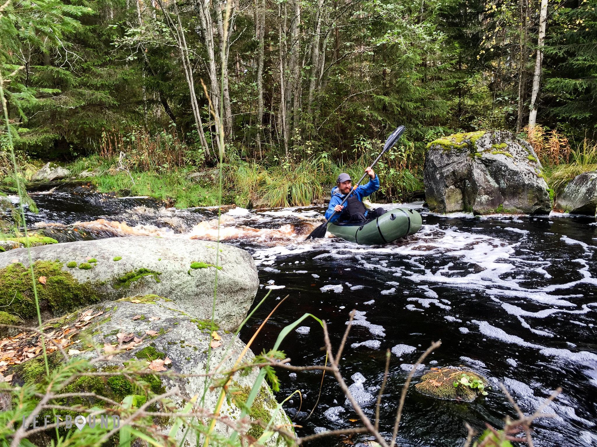 Karhukoski rapid in Haukkajoki