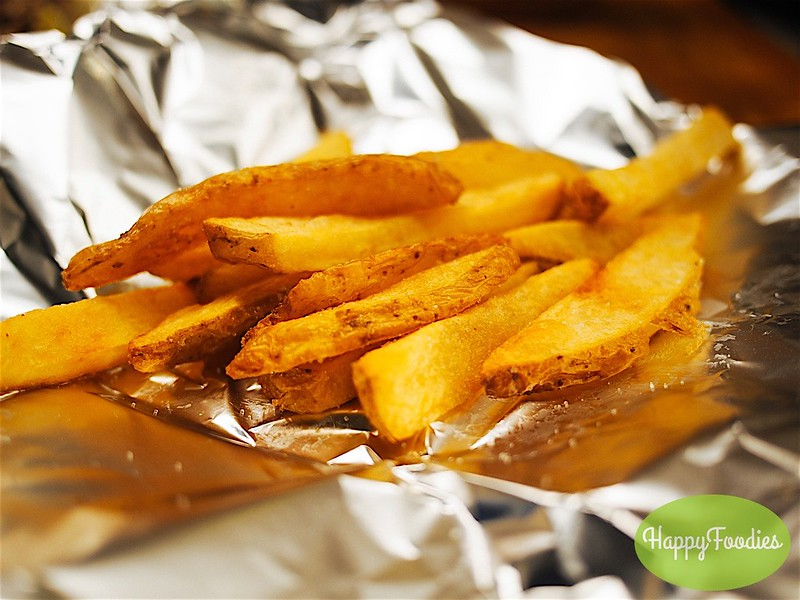 Thick cut fries for the combo meal