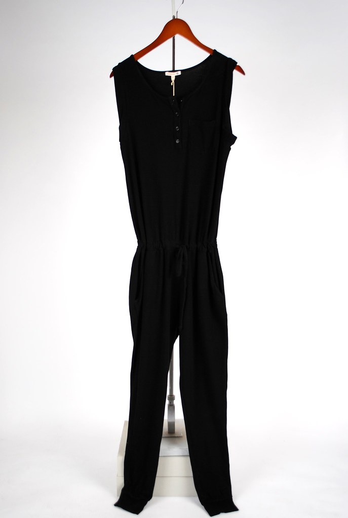Brushed Jersey Jumpsuit