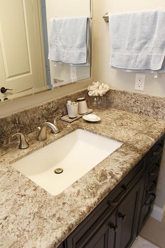 05 cypress kitchen master bathroom remodel aplus for Countertops bathroom ideas
