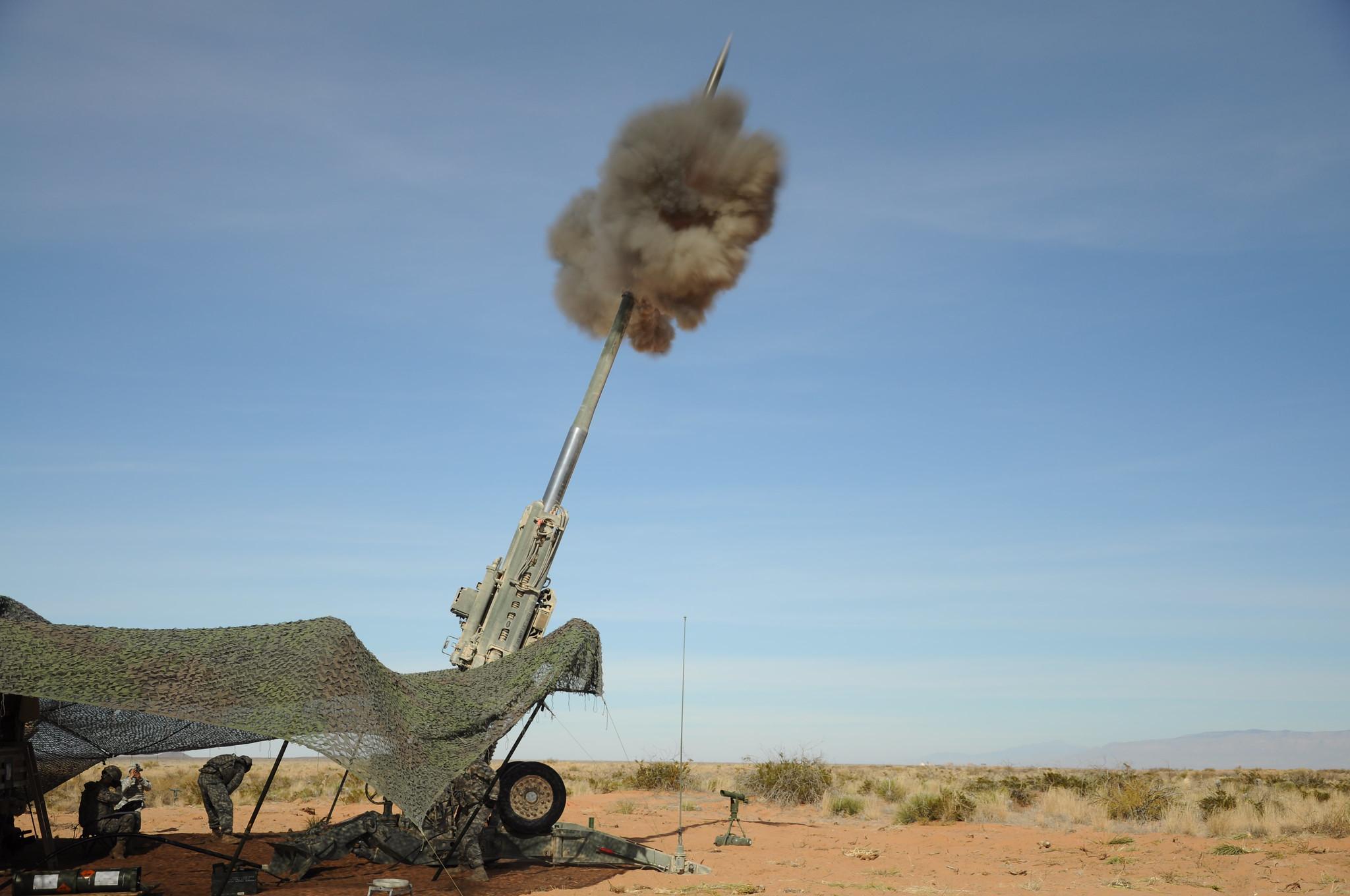 M982 Excalibur fire