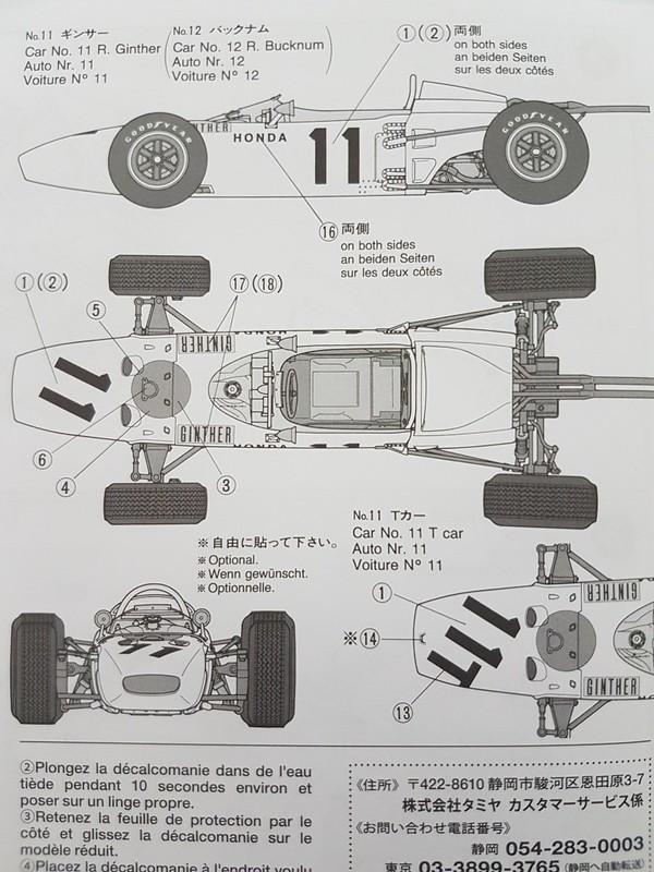 Auto cockpit beschreibung  Honda RA272 / Tamiya - Revell Community